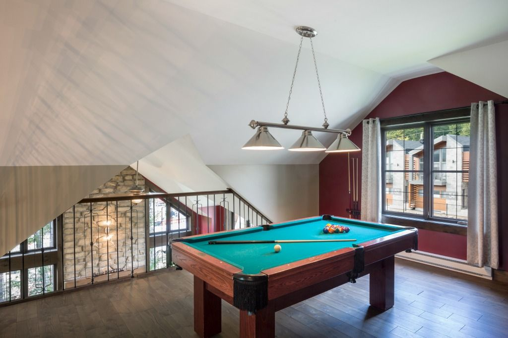 Pool Table Chalet Stoneham
